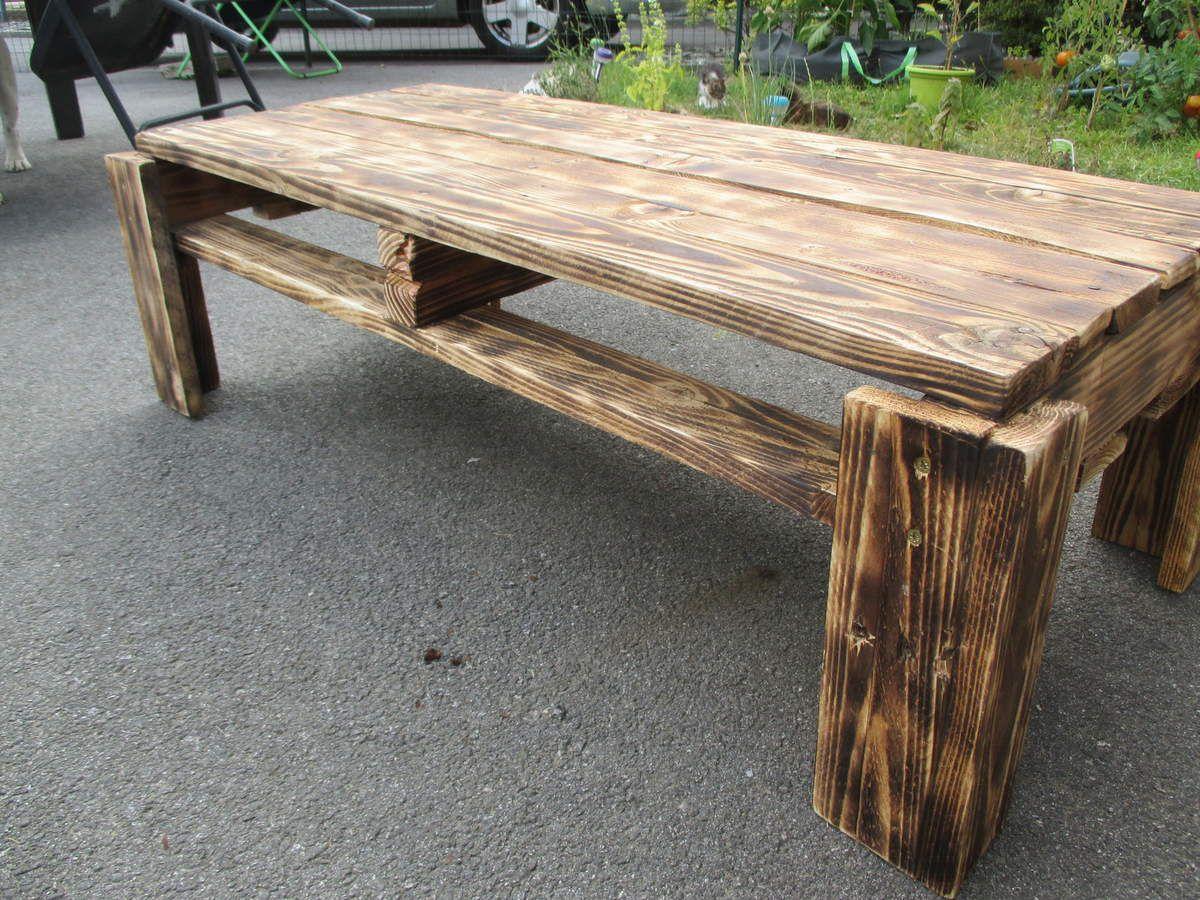 Petite table basse toujours en palette de bois un montage simple mais efficace lol relookmeuble # Petite Table Basse En Bois