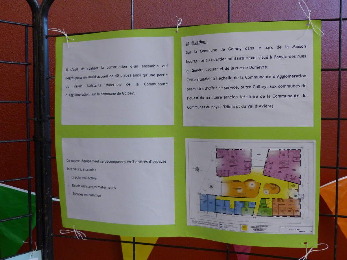 Un projet prometteur d'accueil de la petite enfance à Golbey