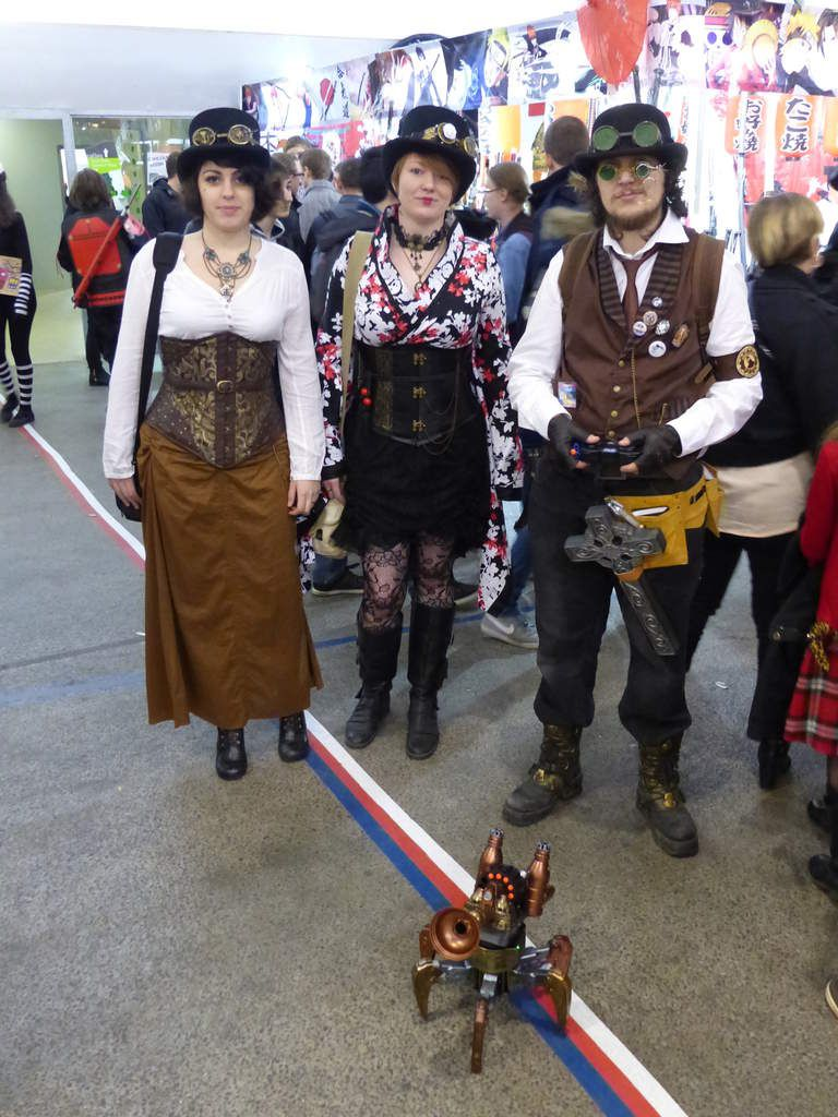Le Steampunk reste une tendance nostalgo-pratique dominante mais marginale au Cosplay traditionnel
