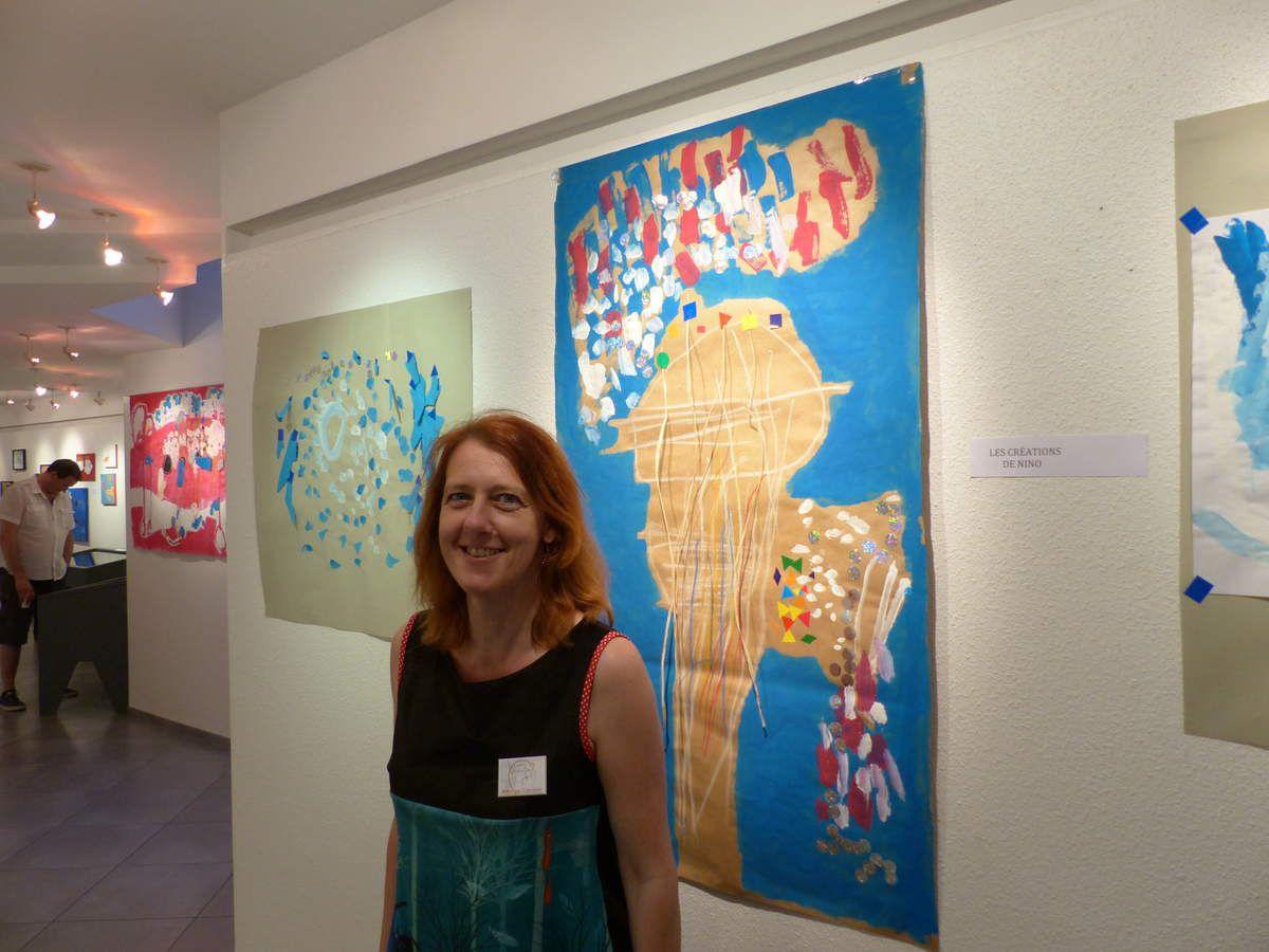 Marina Grandgirard, représentante d'Asperger Lorraine en Vosges