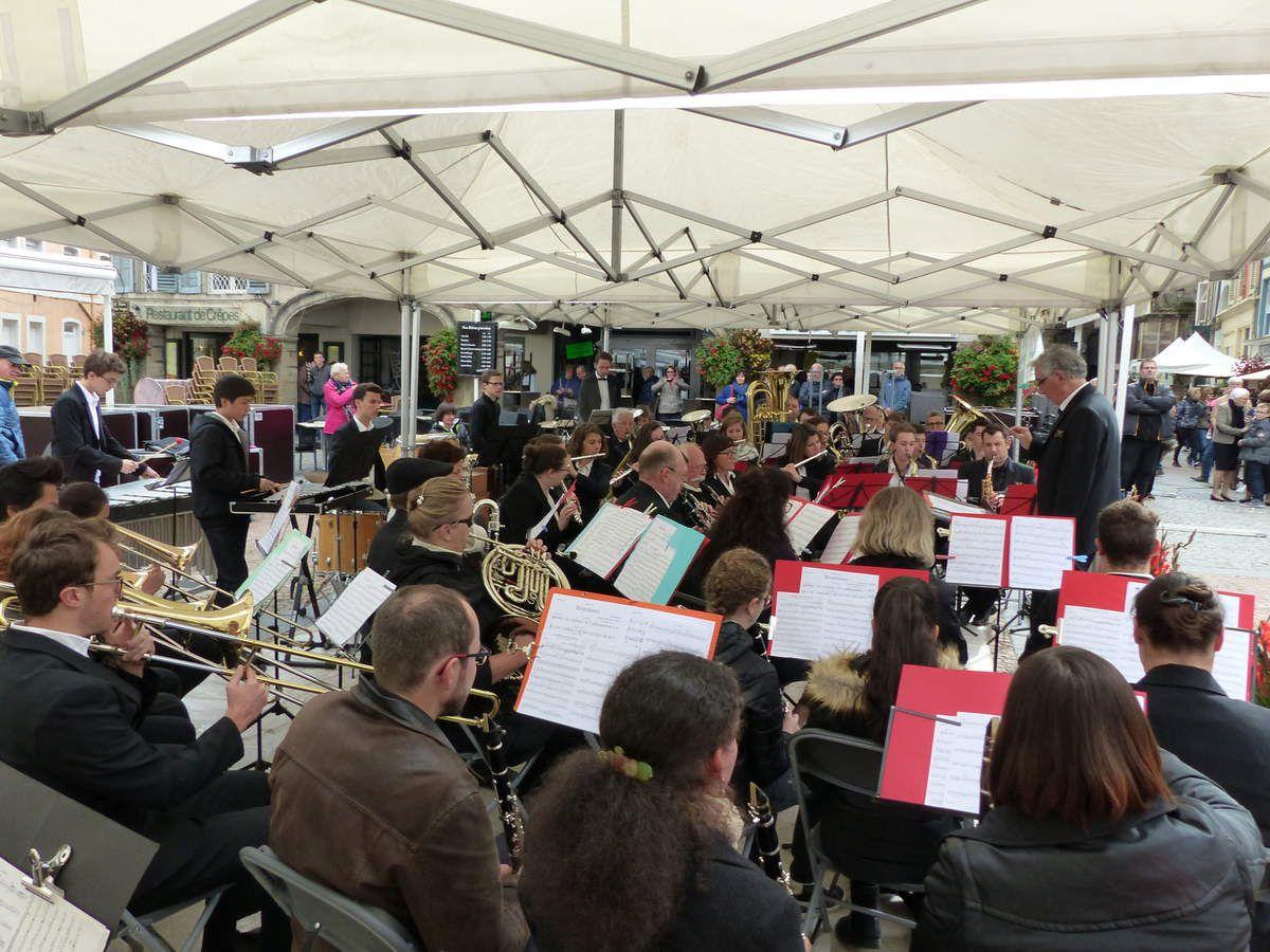 Un auditoire attentif aux musiques de l'Orchestre d'harmonie d'Epinal