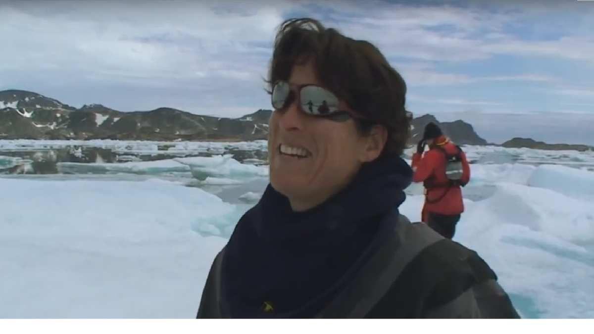 Les dernières aventures d'Anne l'ont menée en kayak de mer en Artique
