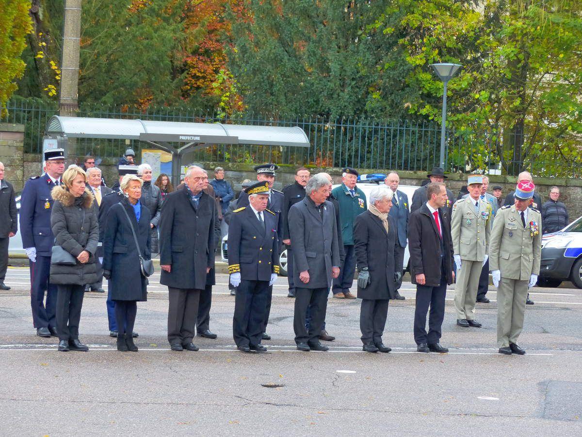 Commémoration du 98ème anniversaire de l'armistice