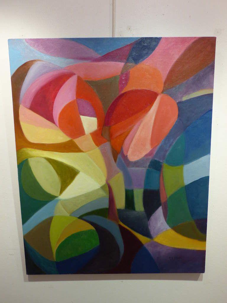 .. Tout comme en abstrait et pastels