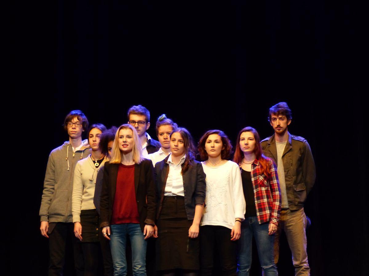 La classe de Guillaume Fulconis sur scène