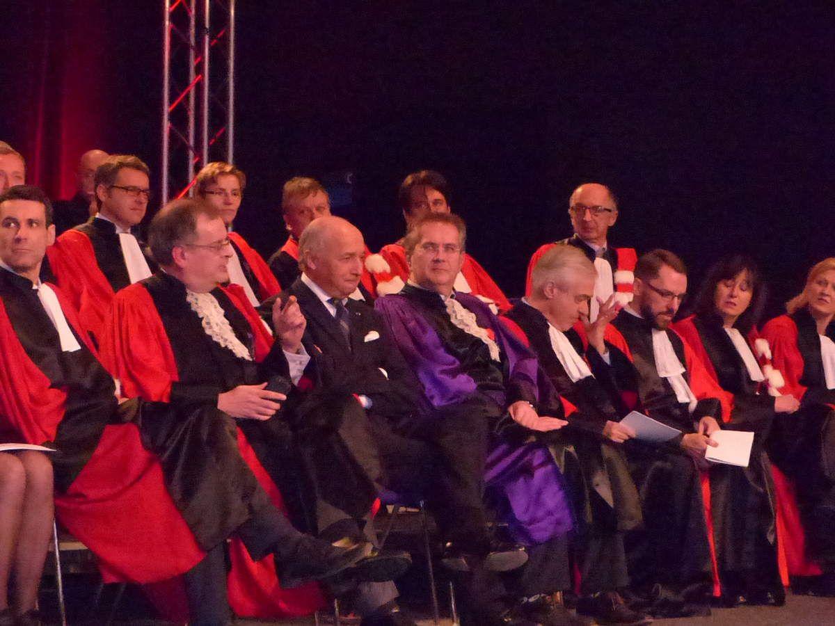 Une représentation de l'Université en grand uniforme - Pierre Mutzenhardt, physico-chimiste et Président de l'université de Lorraine