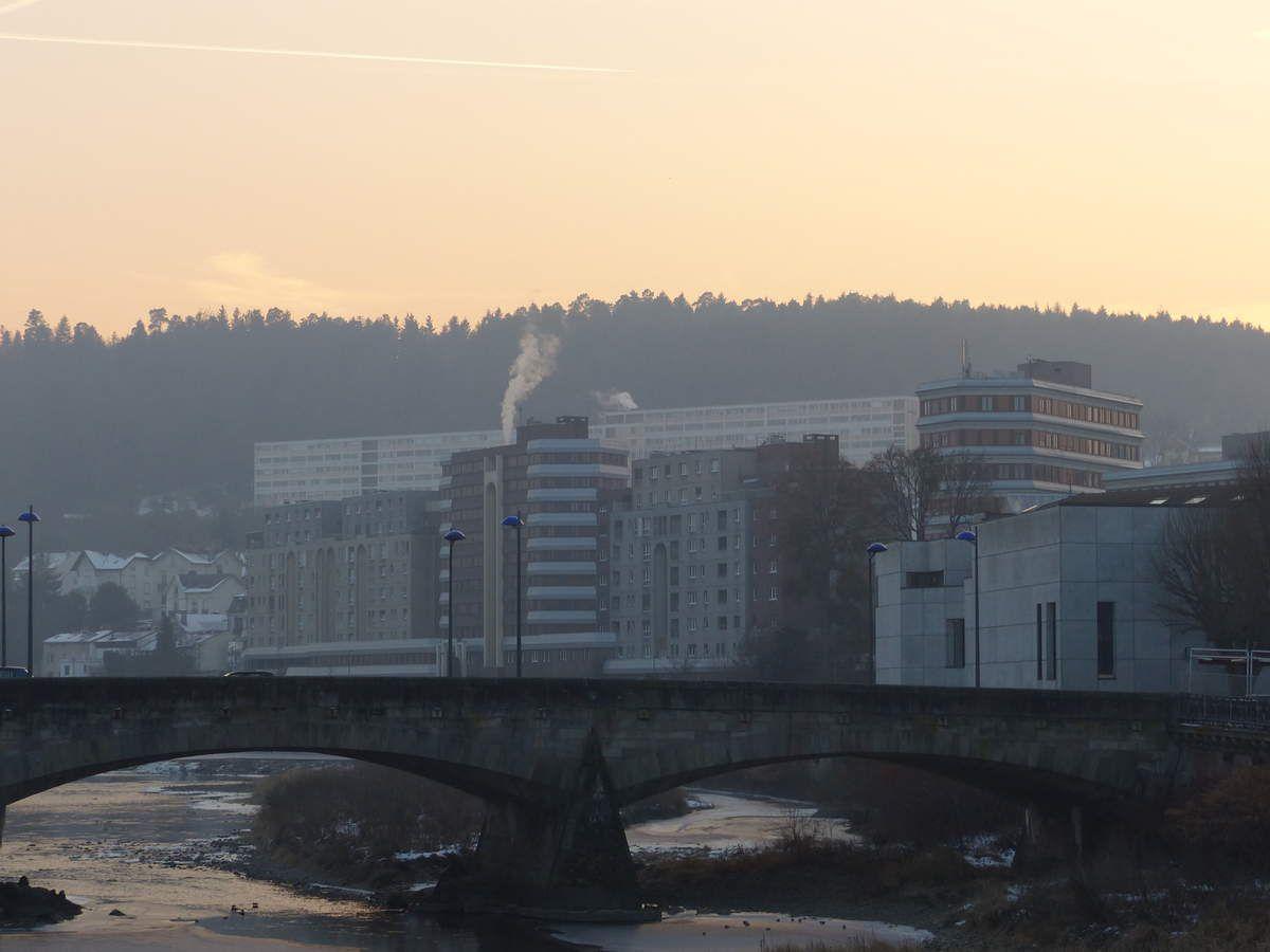 Premier pic de pollution pour les Vosges