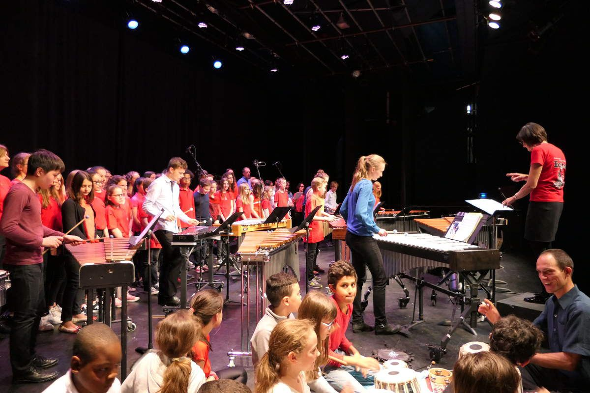Kolossal Orchestra, en concert à La Louvière.