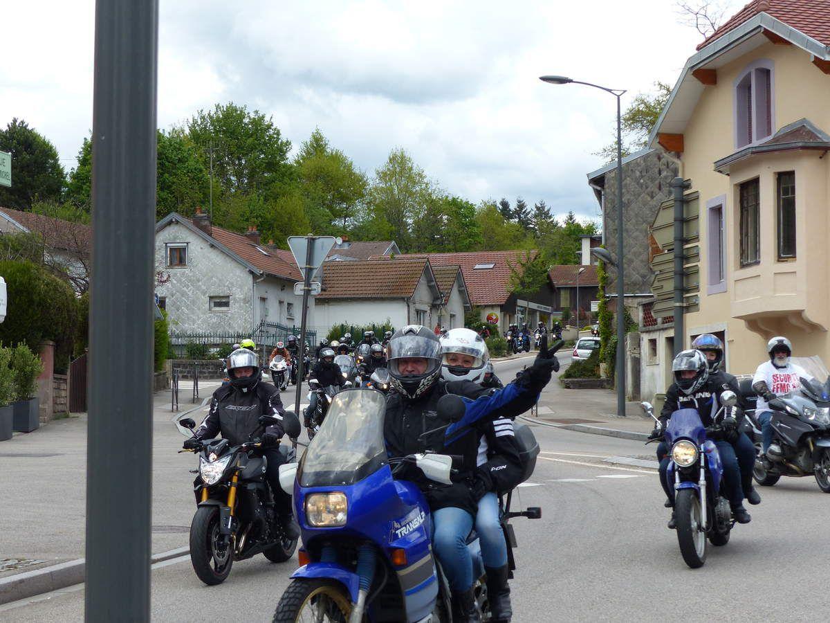 En colère! Les motards défilent à Epinal samedi dernier