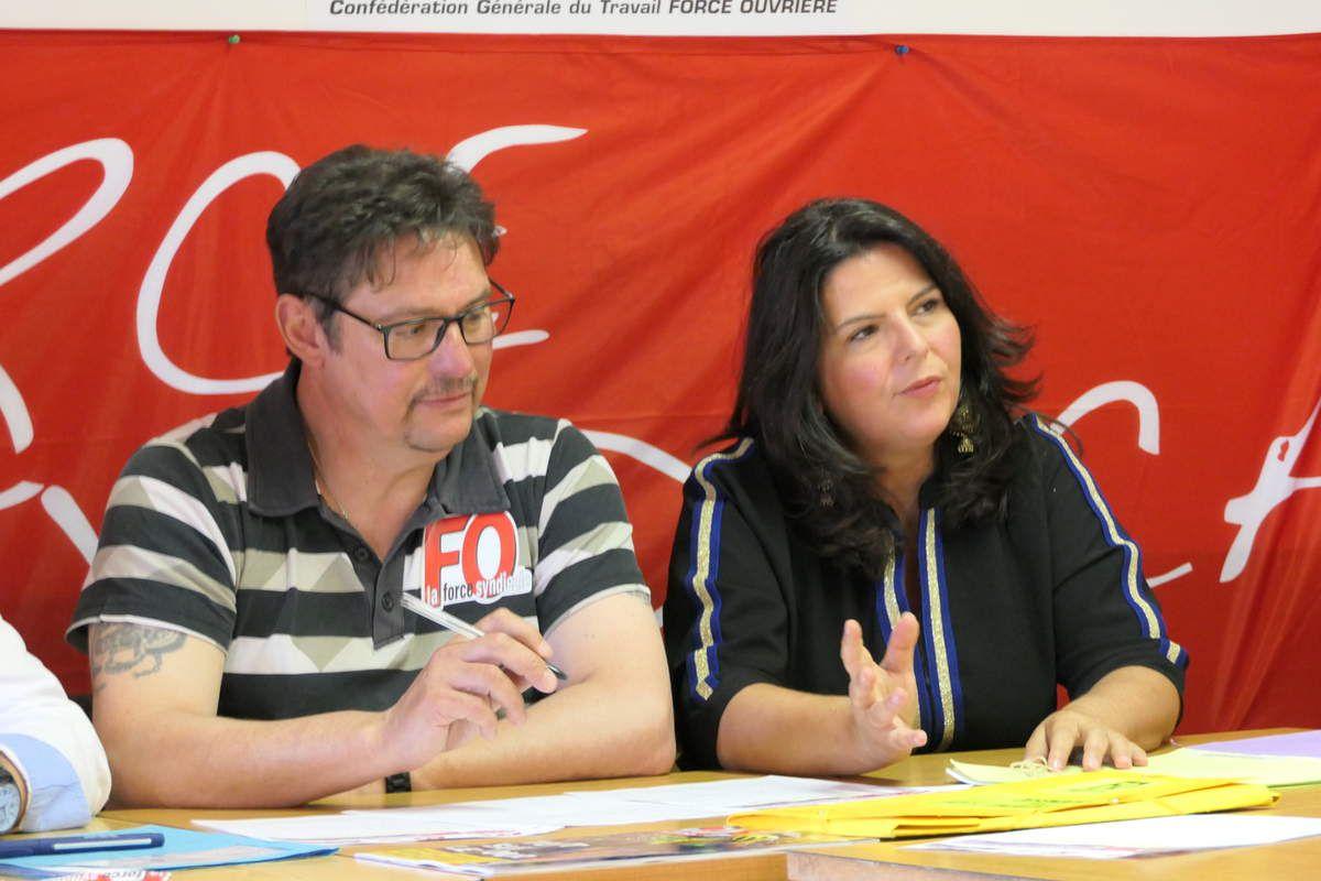 Patrick Husson de Trane Golbey et Maitre Marion Partouche du barreau d'Epinal