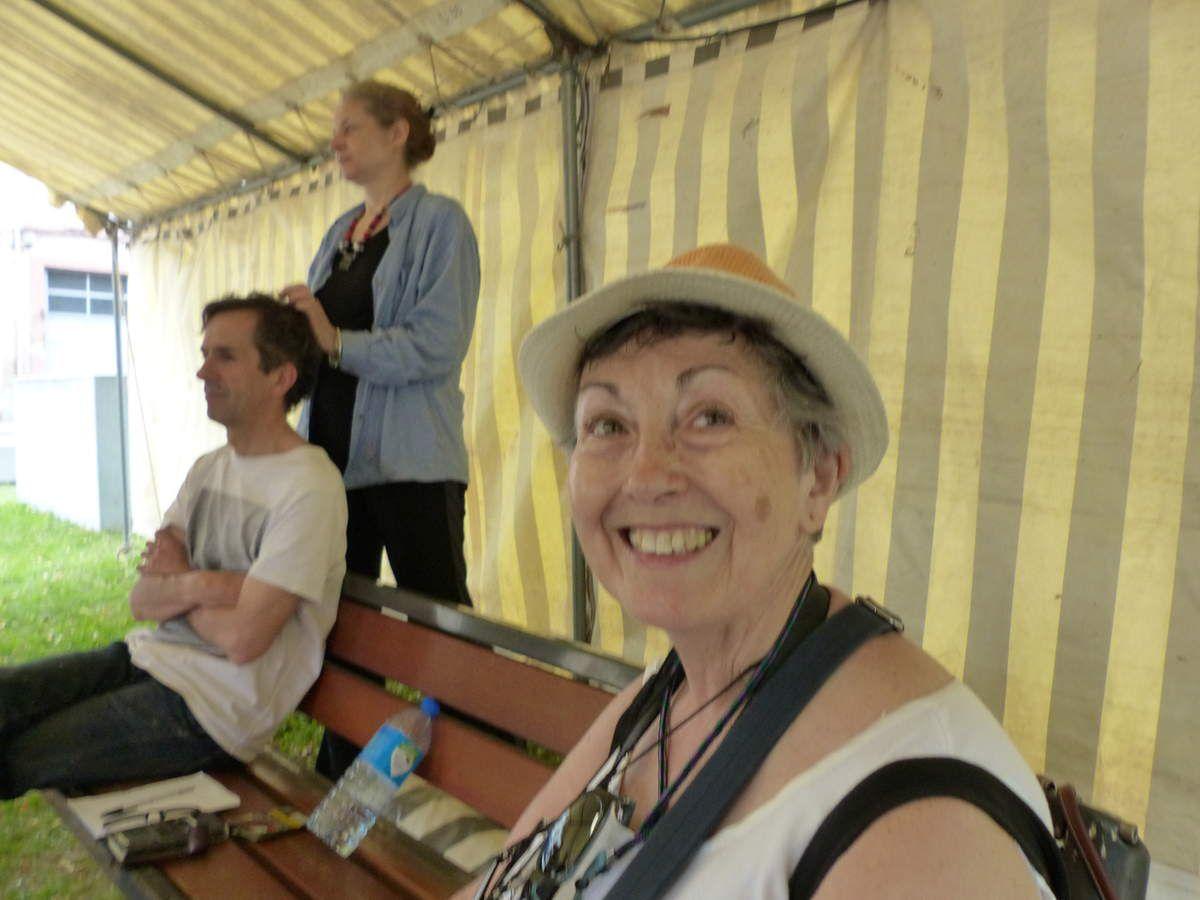 Marie Luce heureuse de sa découverte artistique spinalienne