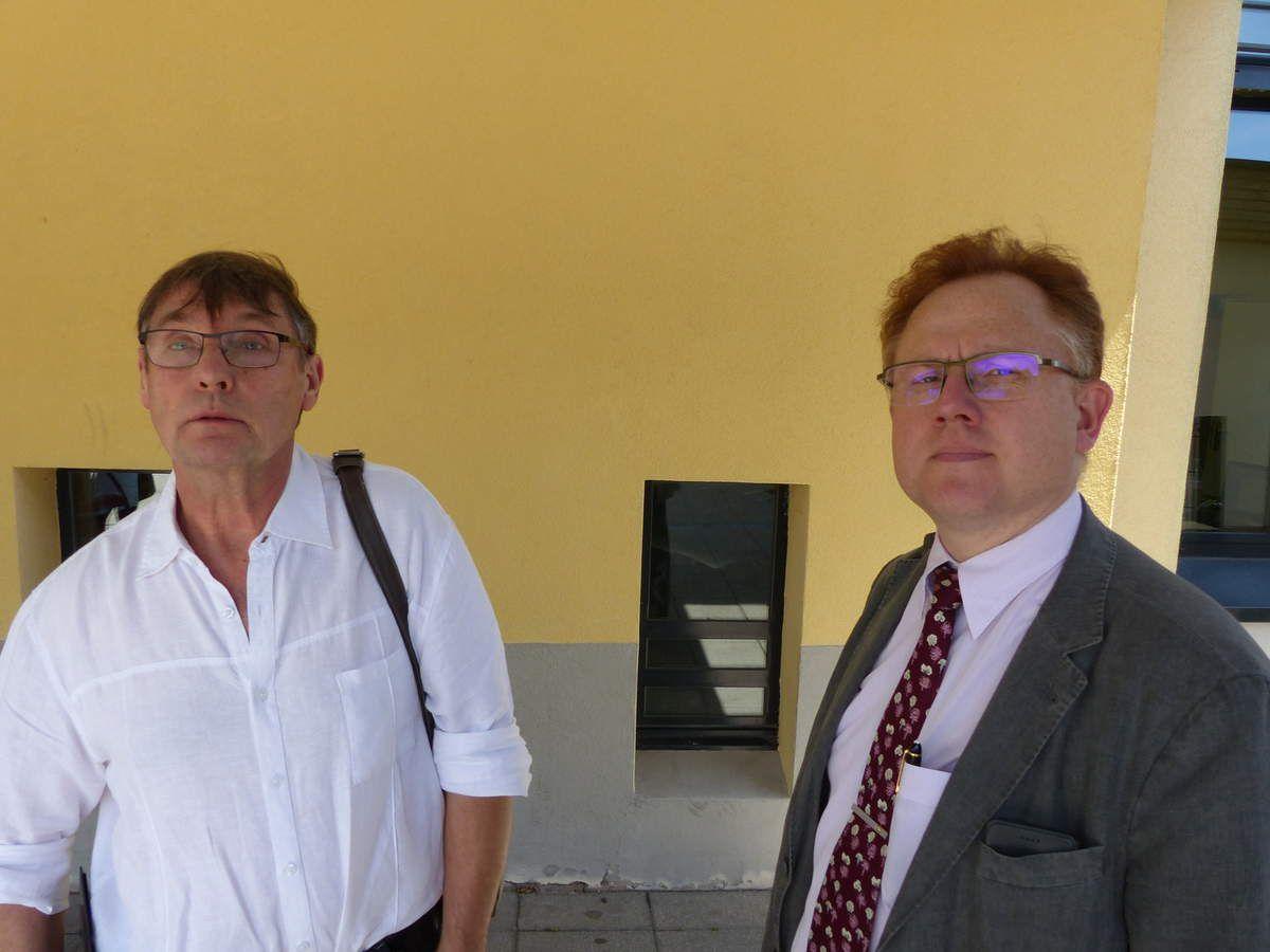 Alain Prévôt et Christophe Royer représentants des parents d'élèves s'inquiètent des pratiques et  du silence de l'administration