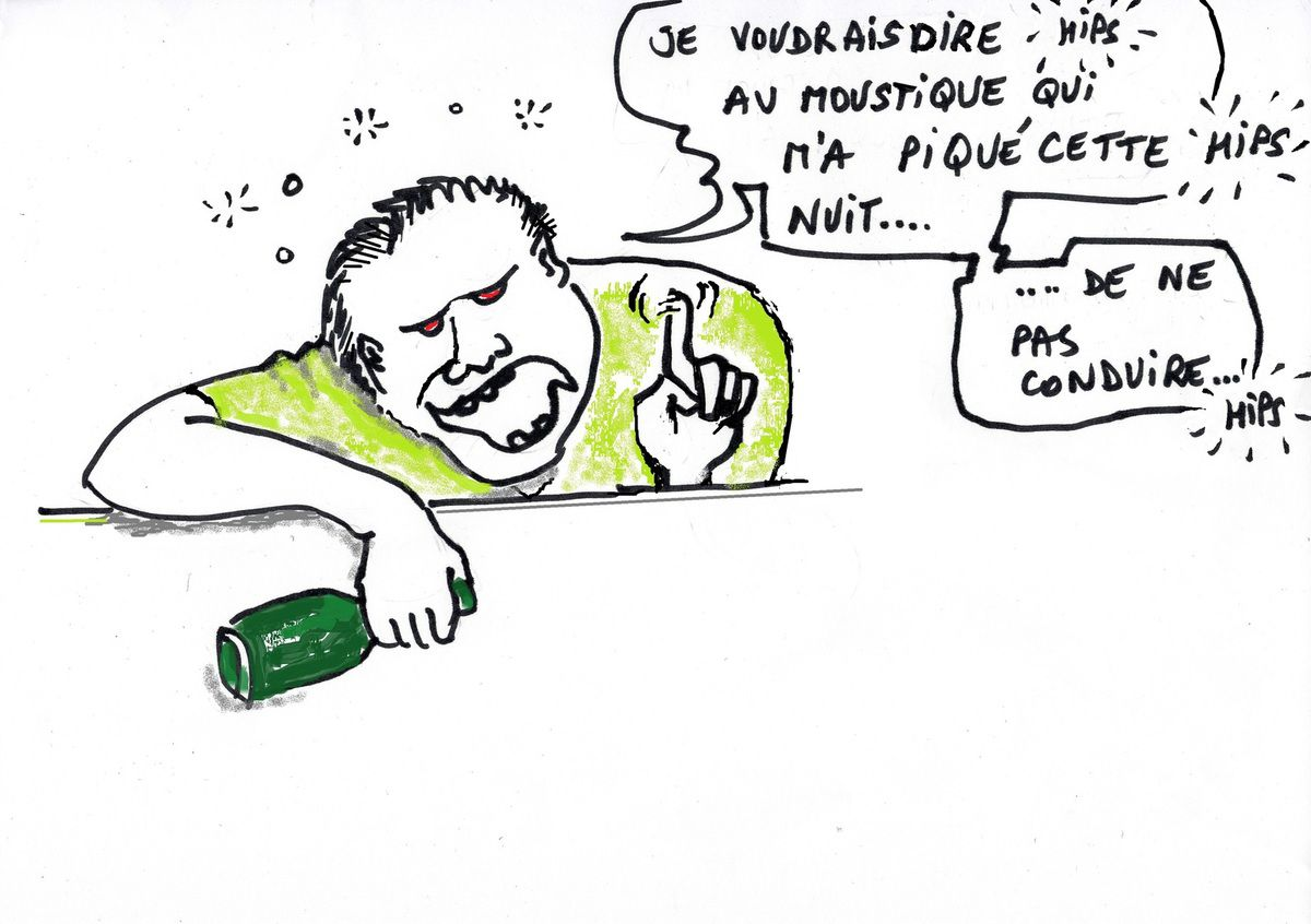 L'Alcool comme insecticide?