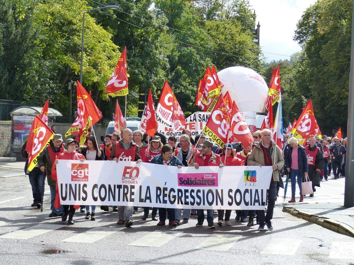 CGT, FO Solidaires et FSU unis dans la contestation des nouvelles lois travail