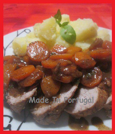 Filet Mignon de Porc aux Carottes et à la Cannelle