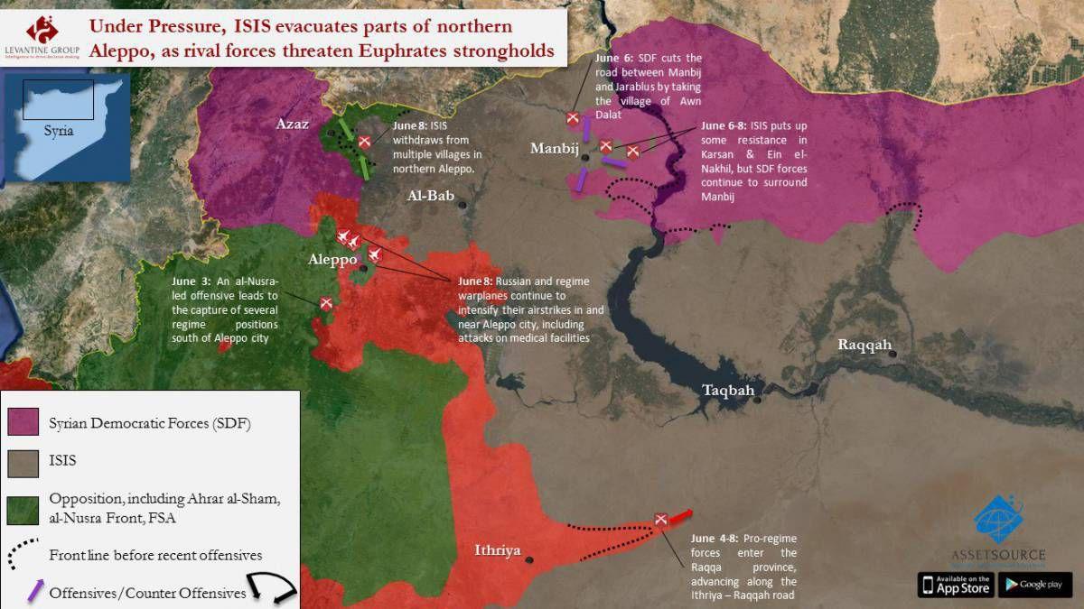 Ce satané lac Assad !