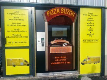Distributeur de chez pizza Suzon