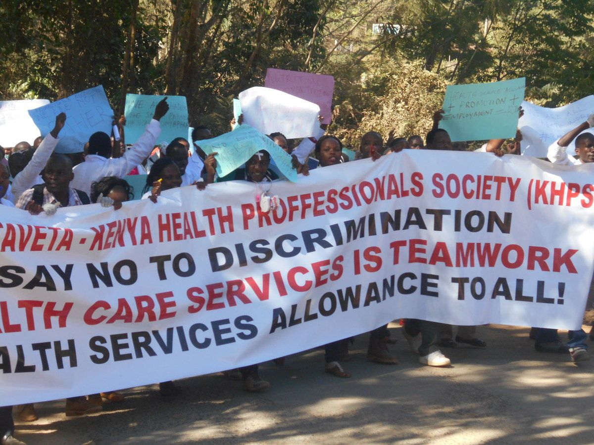 Fresh health crisis in Taita-Taveta county as workers down tools