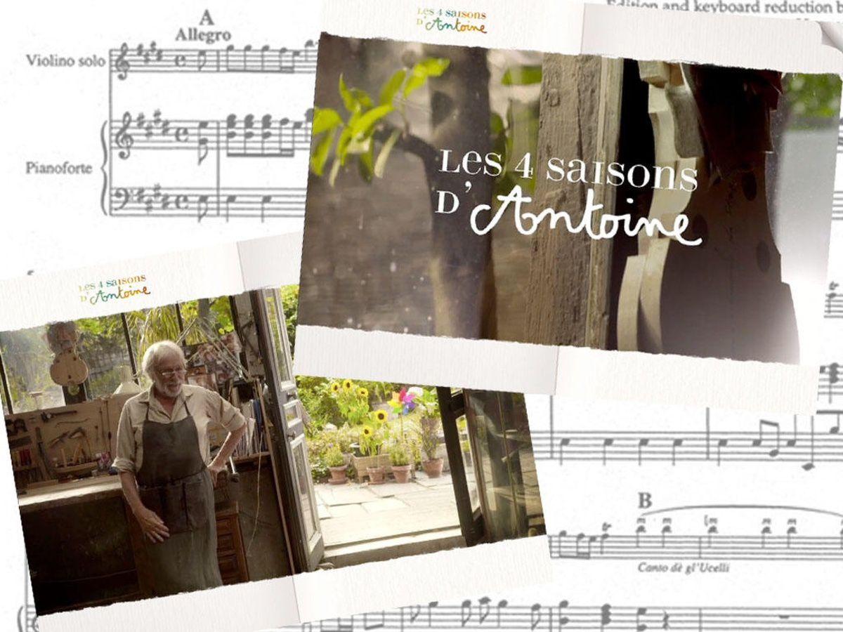 Application Les 4 Saisons d'Antoine