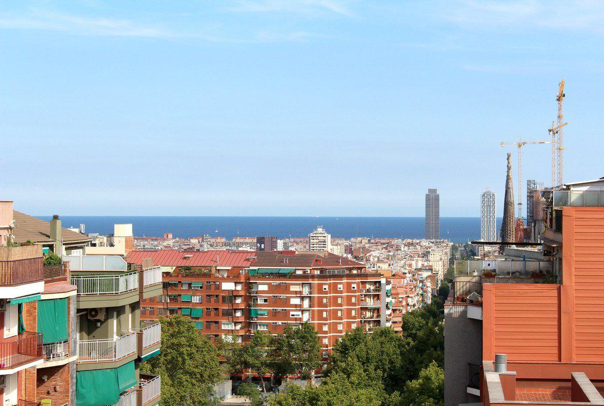 Penthouse avec vue sur la ville