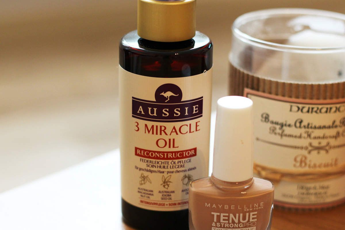 Huile capillaire 3 miracle oil - Aussie