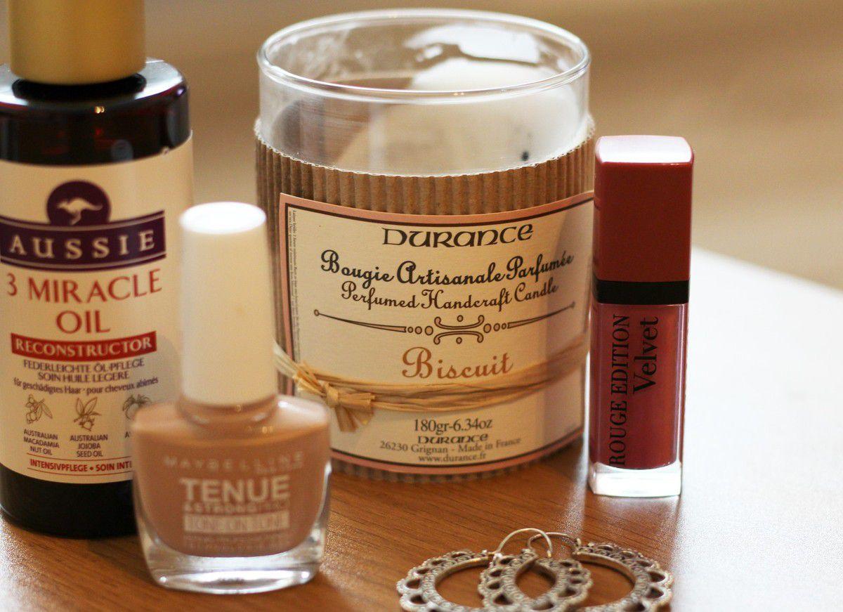Bougie parfumée (biscuit) - Durance