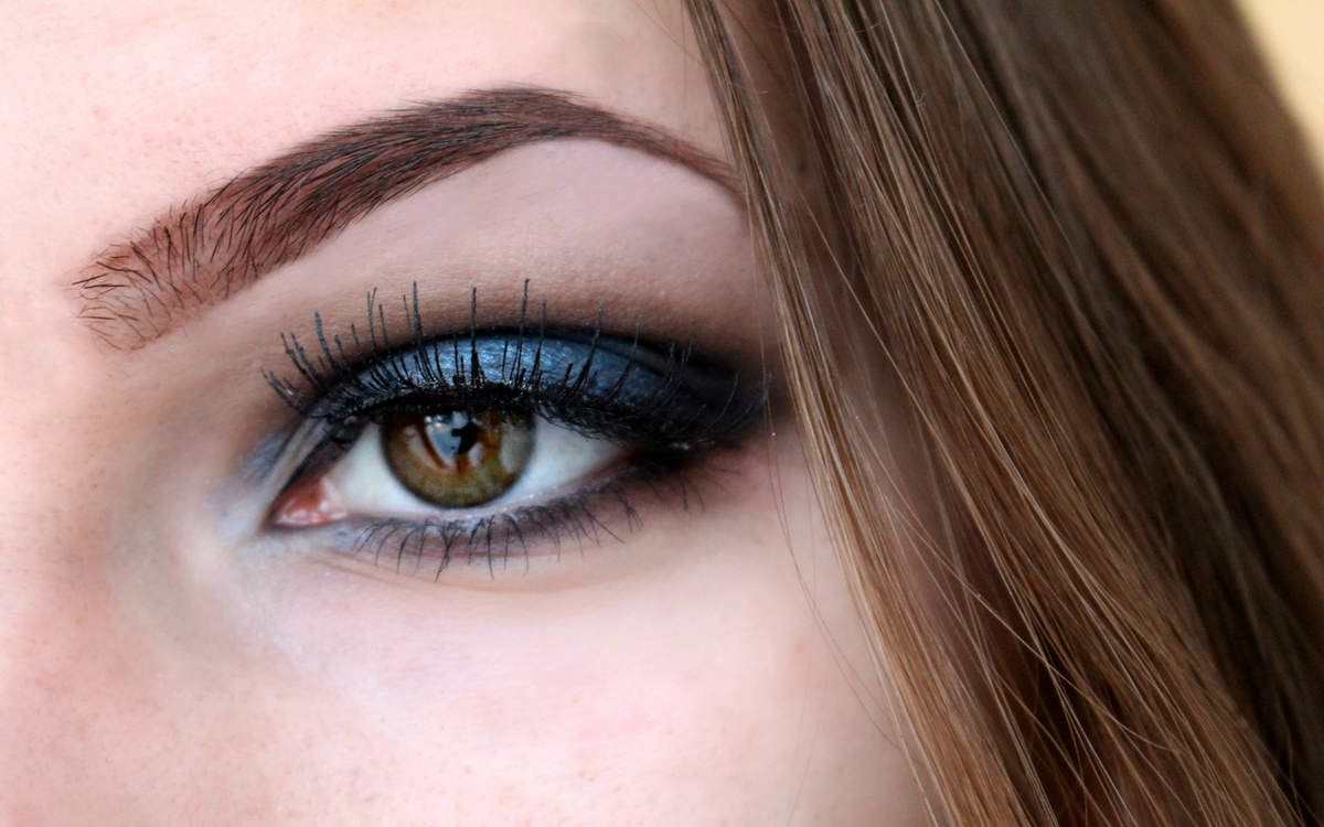 Blue Smokey eyes Nouvel an