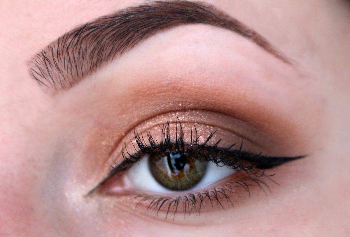 Makeup bronze glam