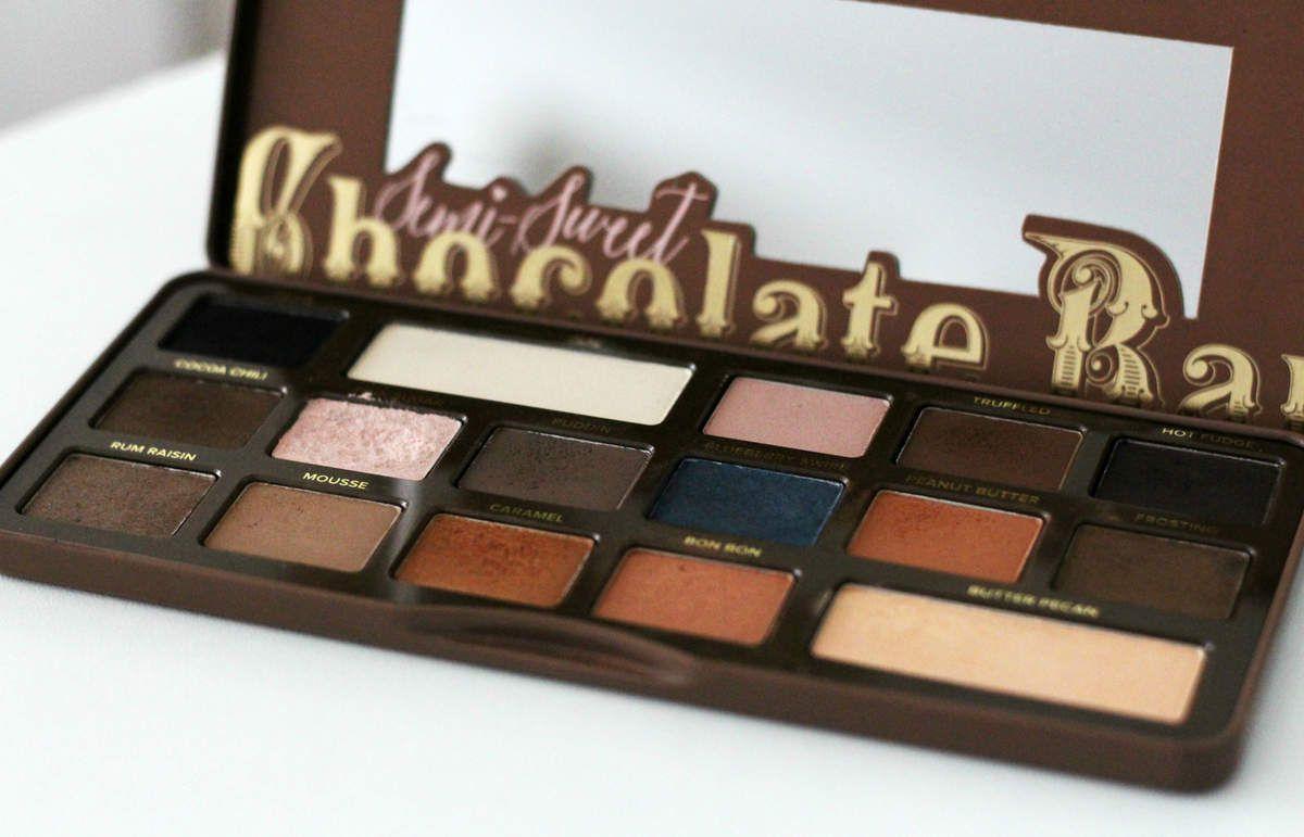 Chocolate bar semi sweet - Too Faced