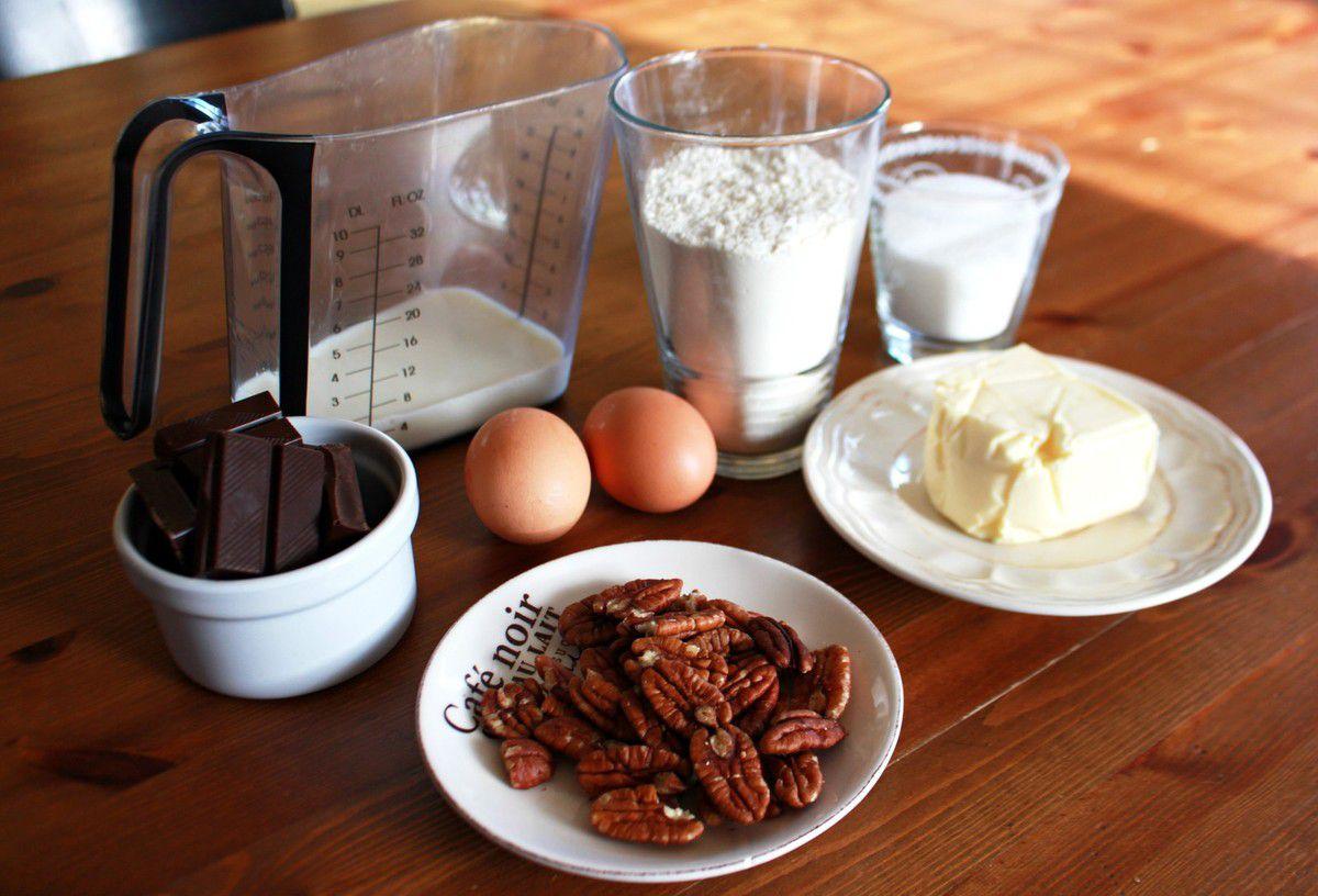 Recette: muffins choco-caramel &amp&#x3B; noix de pécan