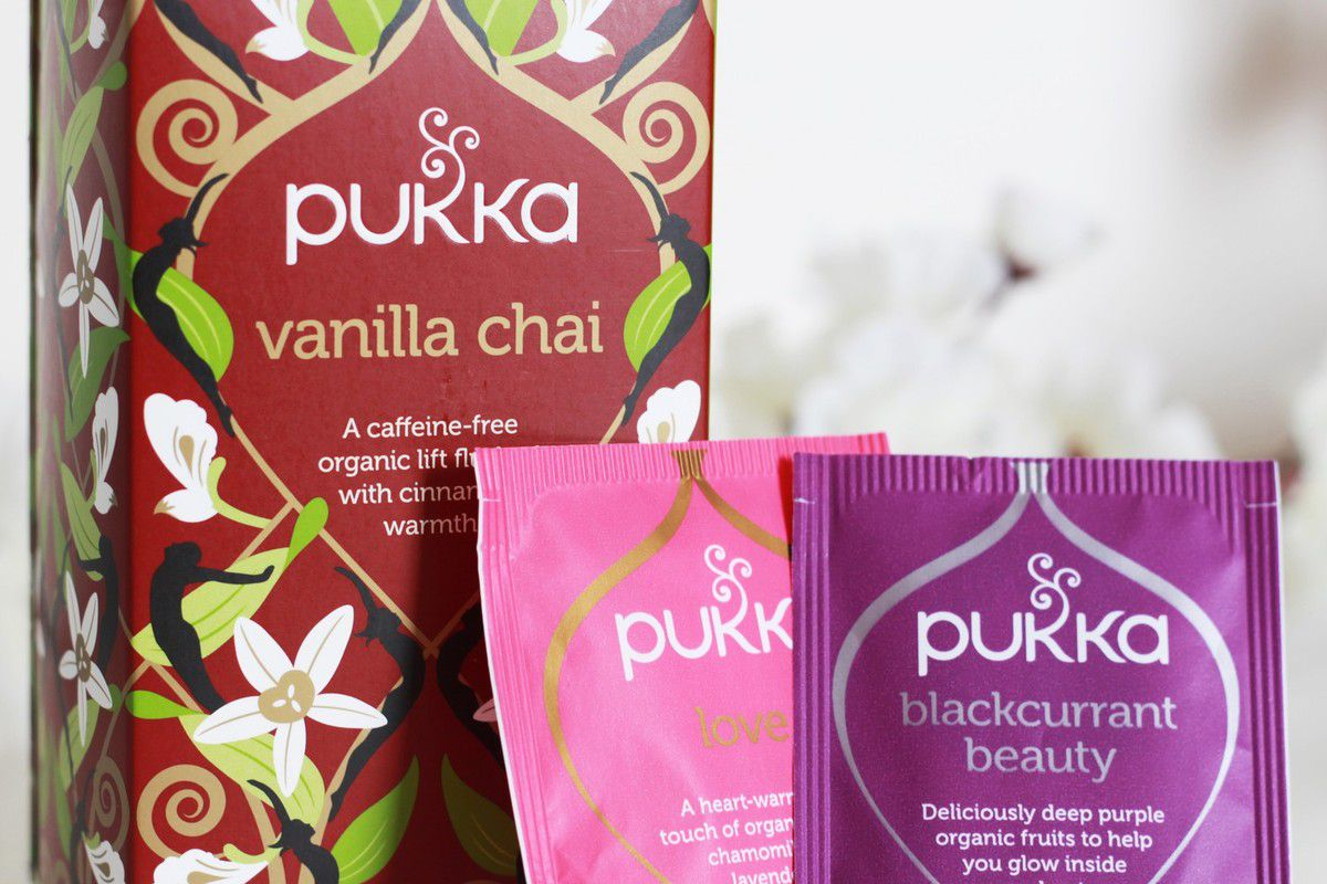 Les infusions Pukka