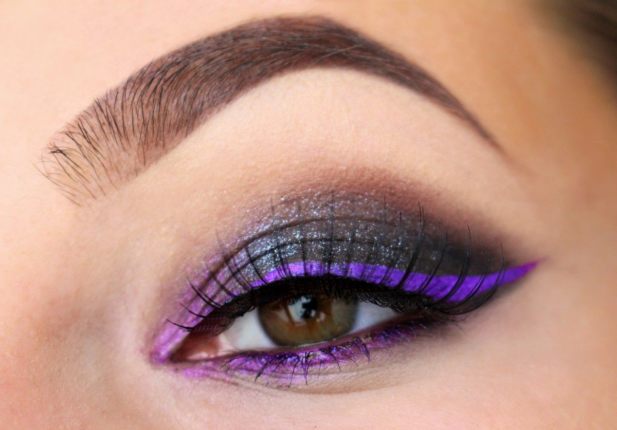 Cat eyes Black &amp&#x3B; Purple