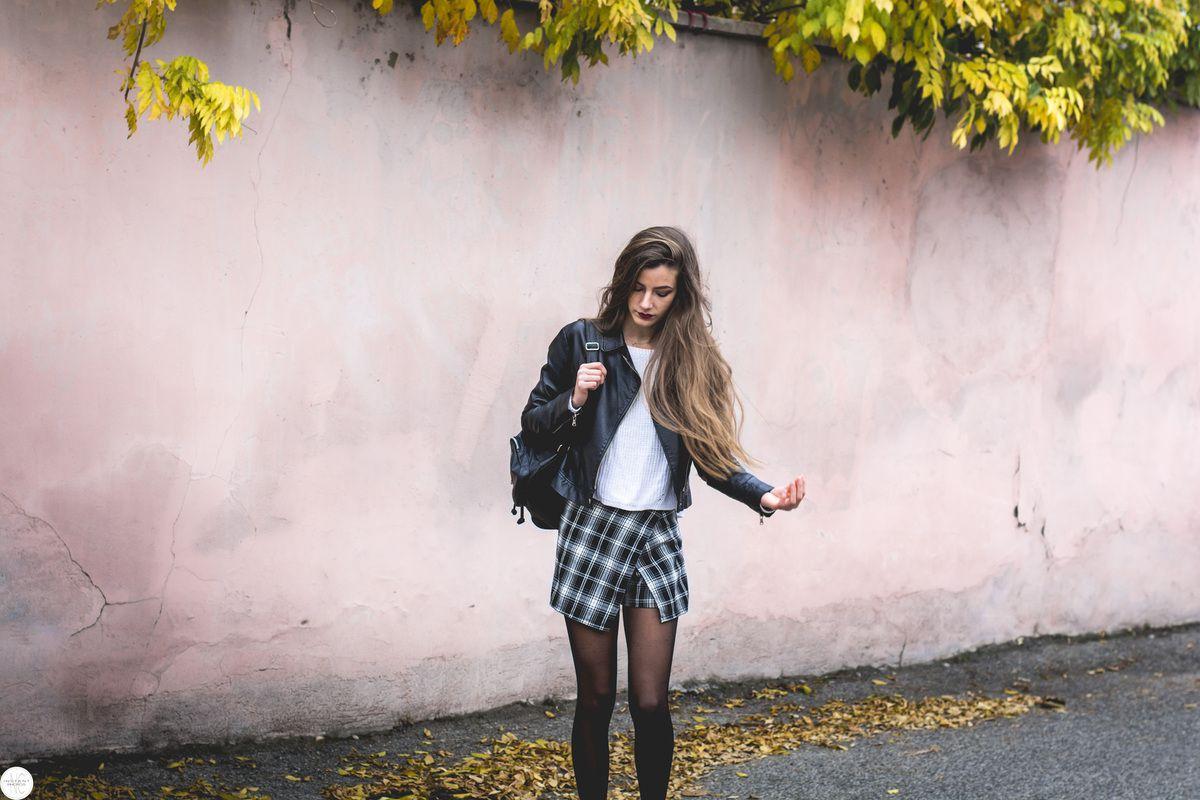 La jupe short écossaise