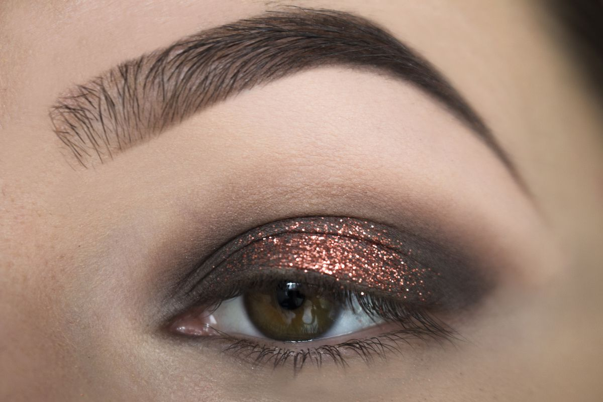 Copper Halo Eye &amp&#x3B; Double Liner // NYE Edition