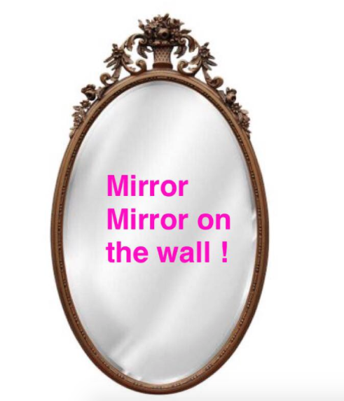 Mirror Mirror on the wall !!