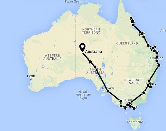L'Australie: Le bilan