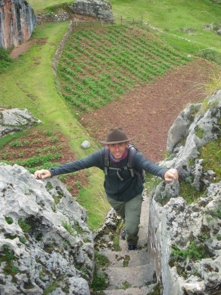 Toujours au niveau du palais de l'Inca.