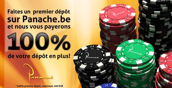 Casino Panaché - 12.5€ à l'inscription - 5€ App mobile - 100% premier dépôt