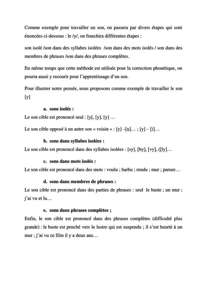 L'enseignement de la phonétique à un public arabophone.