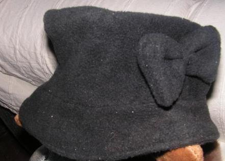 tuto de chapeau...