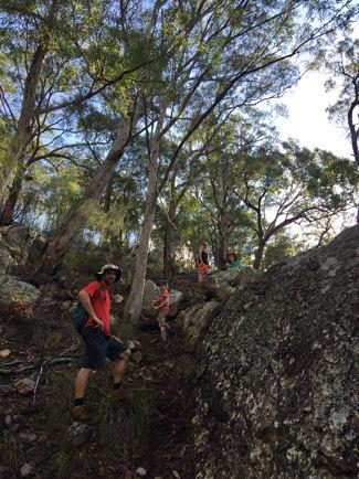 Bush camping at Mount Barney