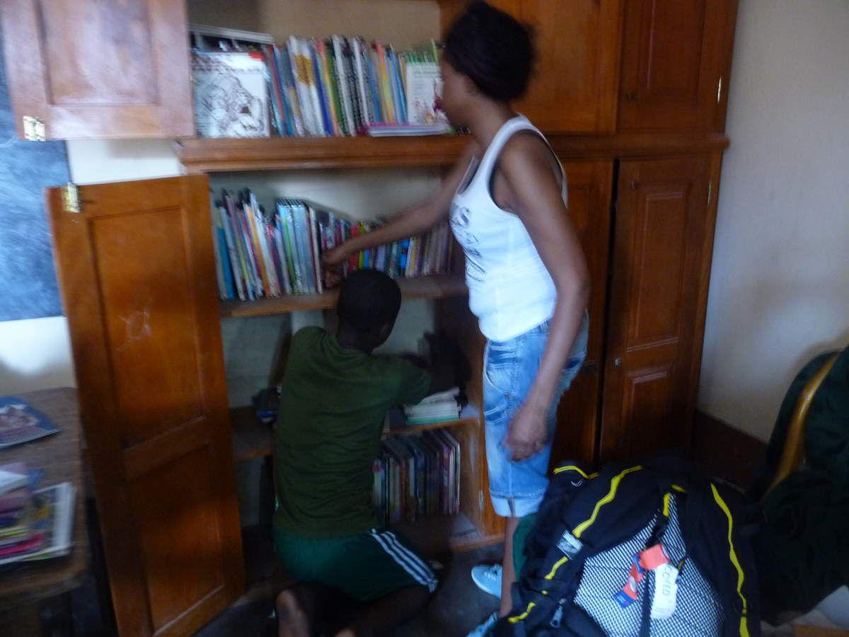 des livres pour les bibliothèques