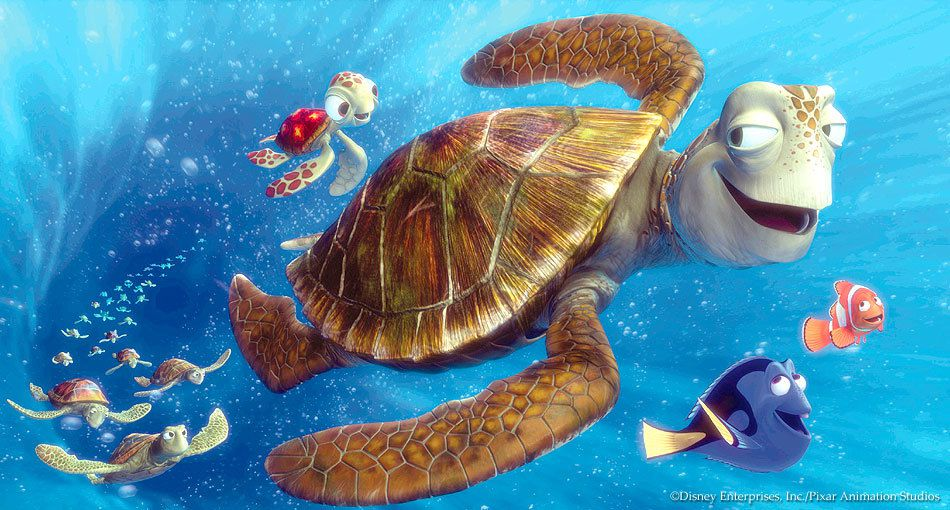 8) 'Finding Nemo' - Probably the cutest film ever.  Its so amazingly thought out and really pulls you in.  Plus who doesn't love Nemo!