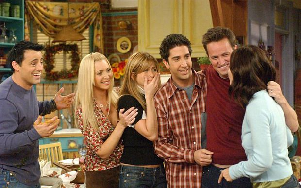 9) 'Friends' - I've never met another human being who doesn't like Friends, the second I put it on I instantly feel better - Need I say more?