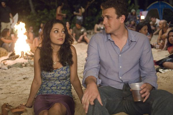 1) 'Forgetting Sarah Marshall' - Taking a trip to forget about your ex and bumping into her at the same resort... Comedy Gold! Plus some eye candy for the guys in the form of the beautiful Mila Kunis.  It doesnt get any better than that!