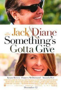 10) 'Something's Gotta Give' - Where there is Jack Nicholson & Diane Keaton, there is a love story.  Its right up there with the rest of the feel good films and it is also hilarious!