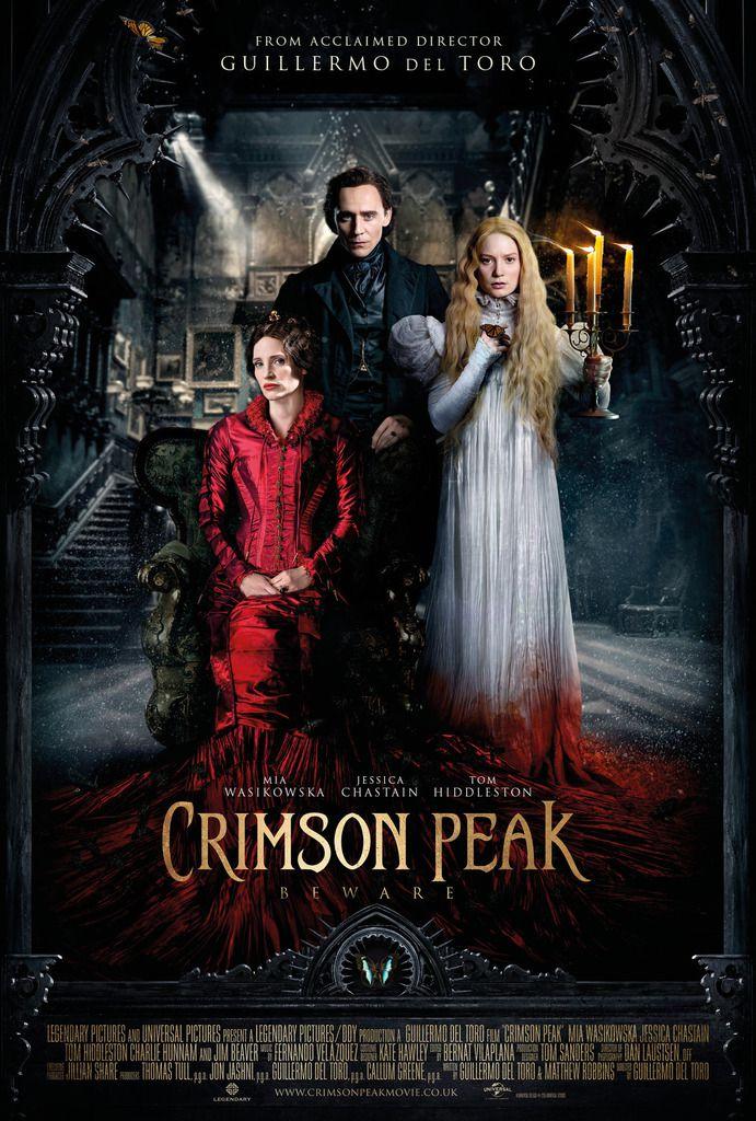 Crimson Peak (romance gothique, filtres et papillons)