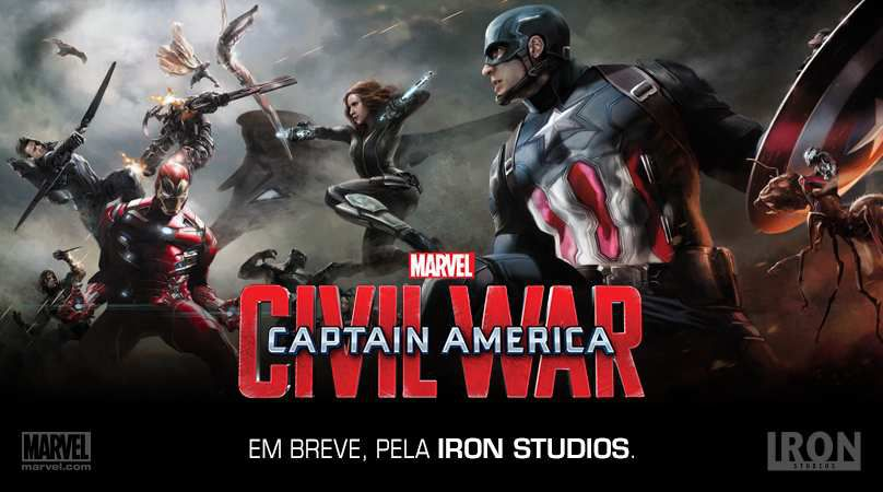 Captain America : Civil War (Captain America V Iron Man)