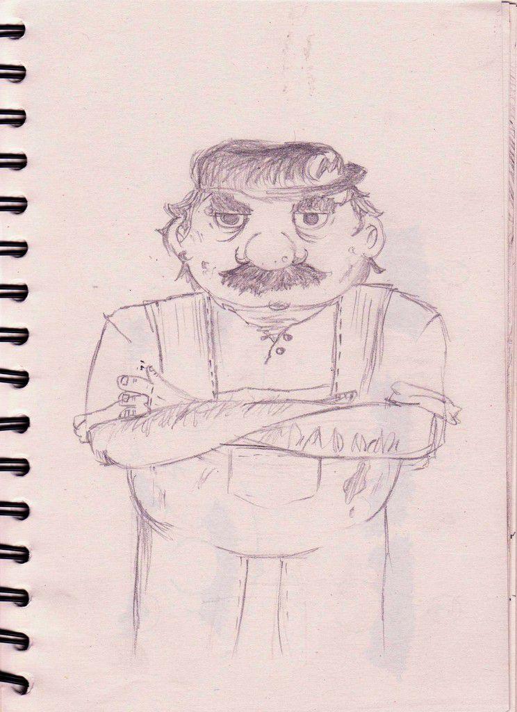 La Double Vie de Mario - Premiers sketchs