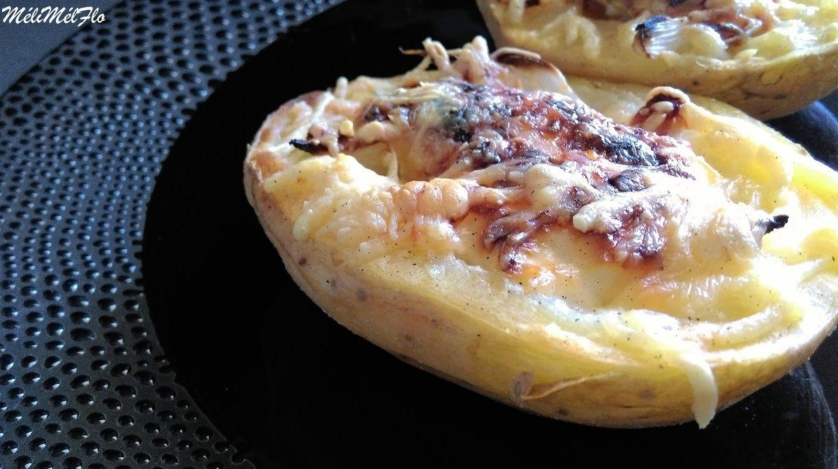 Pommes de terre gratinées façon flammekueche